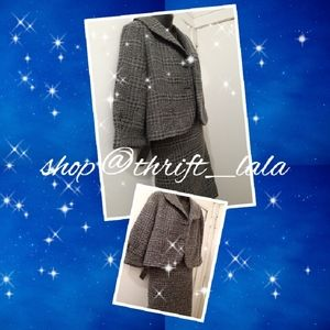 Wool houndstooth Suit
